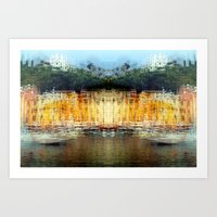 All About Italy. Piece 19 - Portofino Spirit Art Print