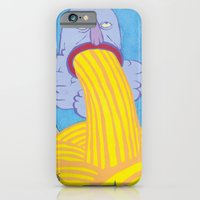 iPhone & iPod Case featuring Chasing the Godhead by zack soto
