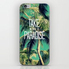 TAKE ME BACK TO PARADISE II  iPhone & iPod Skin