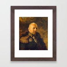 Bruce Willis - replaceface Framed Art Print
