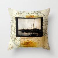 Ephemera 3 Throw Pillow