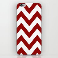 SOONER CHEVRON iPhone & iPod Skin