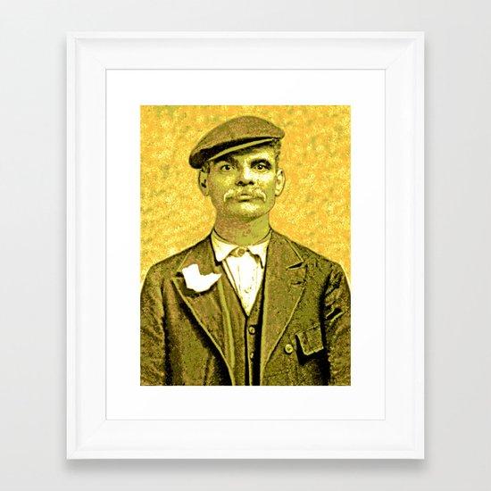 CAPODECINA Framed Art Print