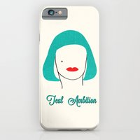 Teal Ambition iPhone 6 Slim Case
