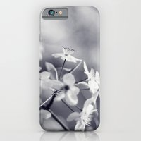 iPhone & iPod Case featuring Pear Blossoms in Black and White by Katie Kirkland Photography