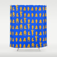 Dip & Come Up - Sand & S… Shower Curtain