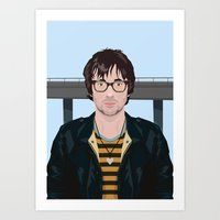 Graham Coxon Under The W… Art Print