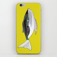 Whale, whale art, whale illustration, art, illustration, design, animal, whales, print, iPhone & iPod Skin