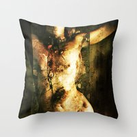 All things broken are 11 Throw Pillow