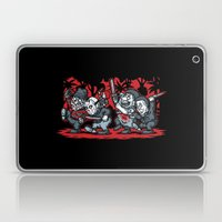 Where the Slashers Are (Grayscale) Laptop & iPad Skin