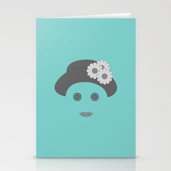 woman Stationery Card