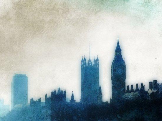 The Many Steepled London Sky Art Print