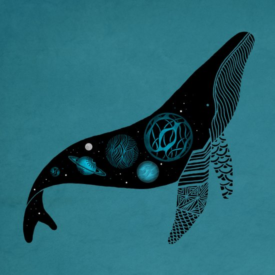 Whale Soul & the Galactic Tour Art Print