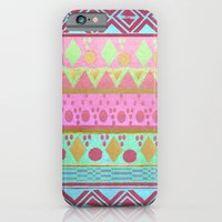iPhone & iPod Case featuring BOHO CHIC TRIBAL by Nika