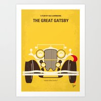 No206 My The Great Gatsb… Art Print