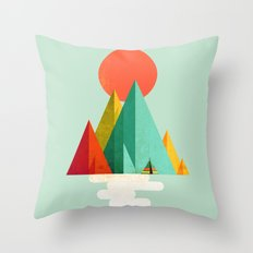 Little Geometric Tipi Throw Pillow
