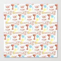 pattern II Canvas Print