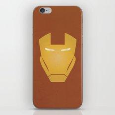 Minimalist IronMan iPhone & iPod Skin