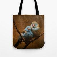Male And Female Cordon B… Tote Bag