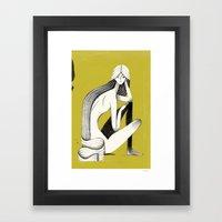 Pin-up #3 Framed Art Print