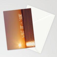 wake up + shine! Stationery Cards