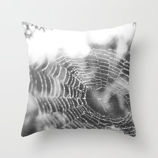 There is Beauty in Everything Throw Pillow