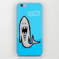 I Eat Pirates iPhone & iPod Skin