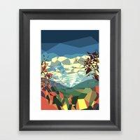Landshape Framed Art Print