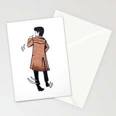 The Doctor dances Stationery Cards