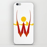 Wild sun iPhone & iPod Skin