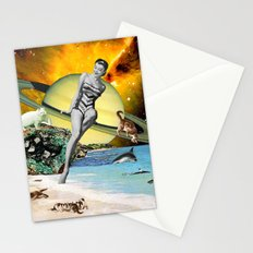 Cat Island Stationery Cards