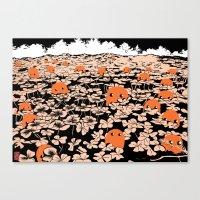 Clover Field Canvas Print