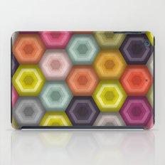 crochet honeycomb iPad Case