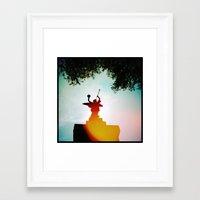 'ANGEL' Framed Art Print