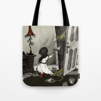 Monster in the Closet Tote Bag
