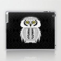 Geometric Snowy Owl Laptop & iPad Skin