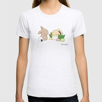 Sushi Womens Fitted Tee Ash Grey SMALL