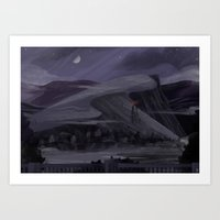 Gray Gloom Art Print
