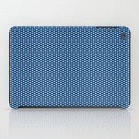 Navy Spotty Pattern Desi… iPad Case