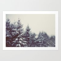 Winter Daydream #2 Art Print