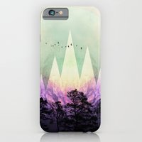 iPhone Cases featuring TREES under MAGIC MOUNTAINS VII by Pia Schneider [atelier COLOUR-VISION]
