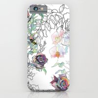iPhone & iPod Case featuring Cosmic Garden by LisaStannard