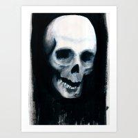 Bones XV Art Print