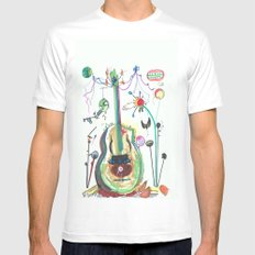 Encore SMALL Mens Fitted Tee White
