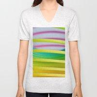 Rainbow Spring 8 Unisex V-Neck