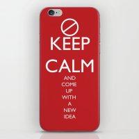 Maybe, Don't Keep Calm iPhone & iPod Skin