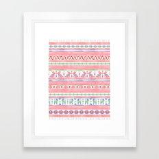 Mexican Blanket Framed Art Print