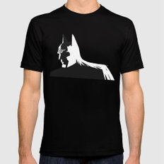 Bat Noir Black Mens Fitted Tee SMALL