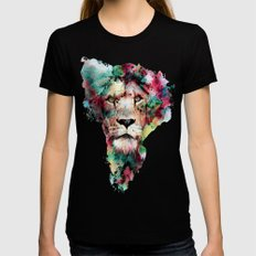 THE KING Womens Fitted Tee Black SMALL