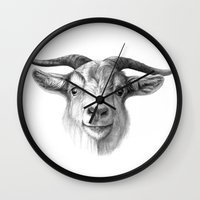 Curious Goat G124 Wall Clock